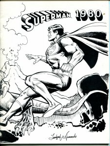 Superman 1980 #1 1979-1st issue-checklist for 1970's stories-C-VF