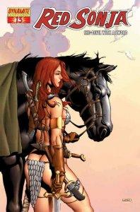 Red Sonja (Dynamite) #13B VF/NM; Dynamite | save on shipping - details inside