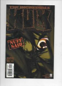 HULK #35, VF/NM, Incredible, Marvel, 2002, more Hulk in store