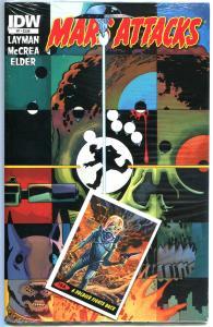 MARS ATTACKS #7, NM, Aliens, Martians, Sci-fi, Death Ray, 2012, sealed w/card