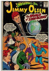 JIMMY OLSEN 105 G+ Sept. 1967 COMICS BOOK