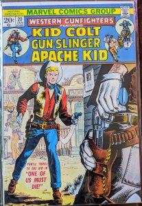 Western Gunfighters #20 (1974) VF