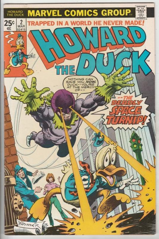 Howard the Duck #2 (Mar-76) NM/NM- High-Grade Howard the Duck