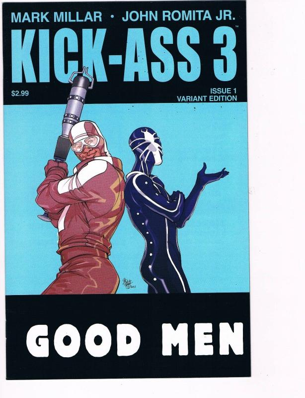 Kick Ass 3 # 1 Pasqual Ferry Cover NM Icon Comic Books Hi-Res Scans Variant WOW!