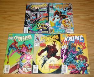 Spider-Man: the Mark of Kaine #1-5 VF/NM complete story - scarlet spider  marvel