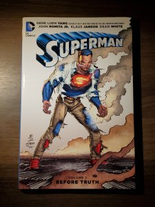 Superman HC VOL 01: Before Truth (2016) - Used, Like New