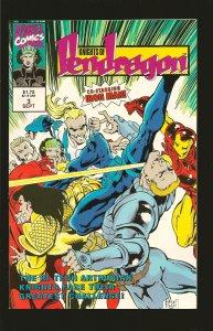 Marvel Comics Knights of Pendragon No 3 September 1992