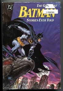 The Greatest Batman Stories Ever Told 1st printing 1988 HC