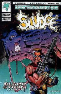 Sludge #8 VF/NM; Malibu | save on shipping - details inside