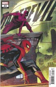 Daredevil #23 (Dec 20) - Spider-Man, Elektra, Bullseye, Typhoid Mary, Kingpin