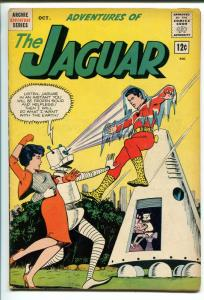 THE JAGUAR #9 1962-MLJ/ARCHIE-ROBOT COVER-CLASSIC ISSUE-vg