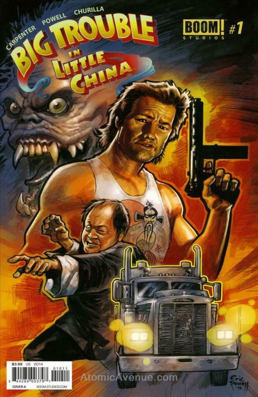 Big Trouble In Little China #1A VF/NM; Boom! | save on shipping - details inside