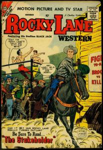 ROCKY LANE WESTERN #87 1959 CHARLTON COMICS B-WESTERN G/VG