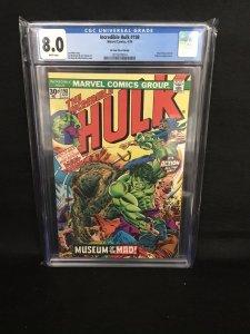 Incredible Hulk #198 (Marvel, 1976) CGC 8.0