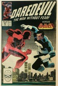 DAREDEVIL#257 VF 1988 VS PUNISHER MARVEL COMICS