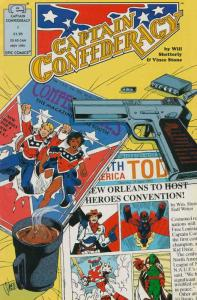 Captain Confederacy (Epic) #1 VF/NM; Epic | save on shipping - details inside