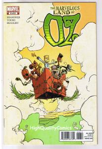 MARVELOUS LAND of OZ #6, VF+, Wizard, Eric Shanower, 2010, more in store