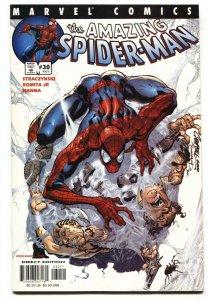 AMAZING SPIDER-MAN Vol 2 #30 1st  Ezekiel & Morlun comic book