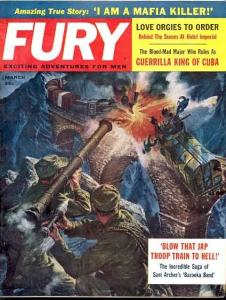 FURY 1961 MAR-CHE GUEVARA STORY/MAFIA/CUBA-CHEESECAKE VG