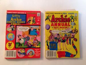 Archie Digest Annual 7 37 FN Lot Set Run Softcover