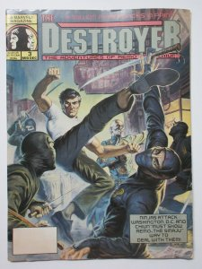 Destroyer The Adventures of Remo and Chiun (Marvel 1990) #3 Ninjas Attack DC!