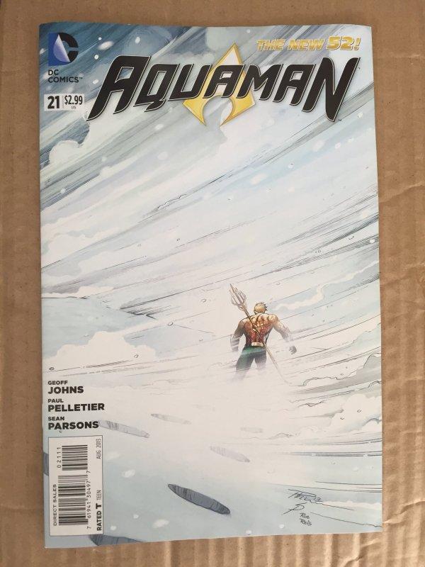 Aquaman comic lot