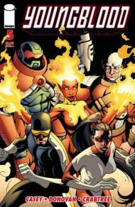 Youngblood (2008 series) #5, VF+ (Stock photo)