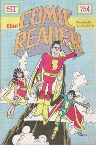 Comic Reader, The #161 FN; Street Enterprises | save on shipping - details insid