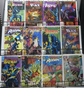BATMAN: KNIGHTSEND COMPLETE! 13 BOOKS! VF-NM Bruce Wayne takes back the cowl!