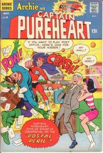 ARCHIE AS CAPT PUREHEART THE POWERFUL (1966-1967)6 VG-F COMICS BOOK