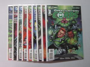 Green Lantern Corps (2011 2nd Series) #1-9 - 8.0 VF - 2011