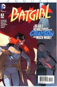Batgirl Annual 3  9.0 (our highest grade)  2015  Grayson!