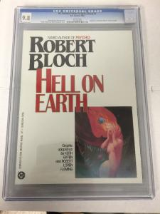 DC Science Fiction Graphic Novel 1 Hell On Earth Cgc 9.8 Perfect Condition