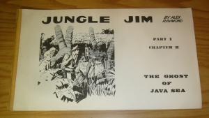 Jungle Jim by Alex Raymond part 1 chapter 2 VG+ the ghost of java sea 1972