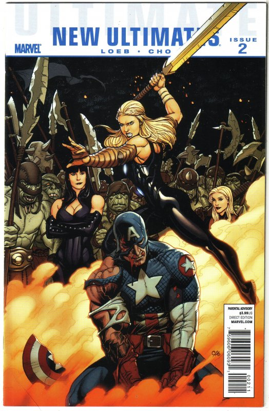 Ultimate New Ultimates   #1,2,4 (set of 3)