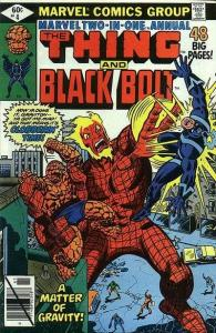 Marvel Two-In-One (1974 series) Annual #4, Fine- (Stock photo)