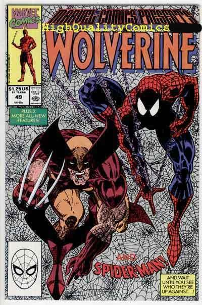 MARVEL COMICS PRESENTS #49, NM, Wolverine, Spider-man, more MCP in store