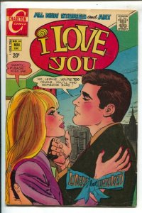 I Love You #94 1971-Charlton--Lonely and Unloved-20¢ cover price-VG