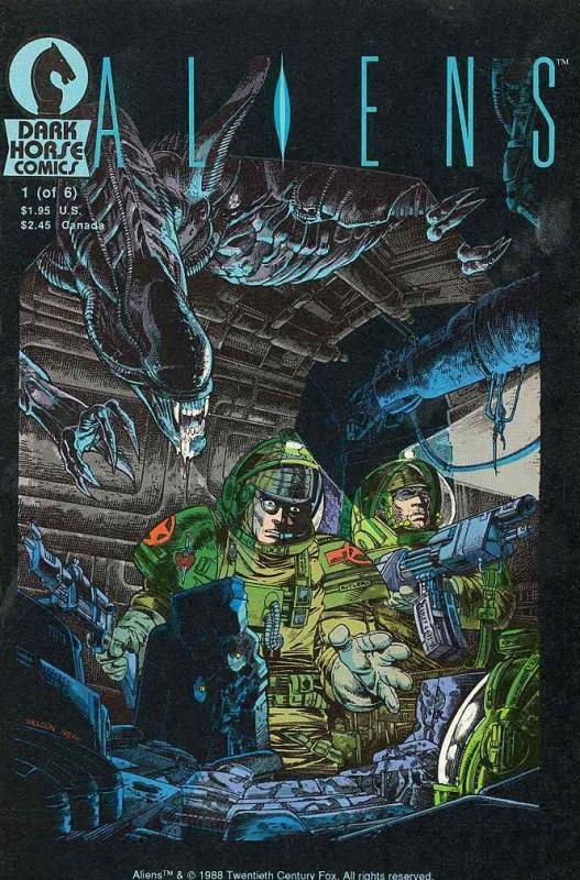 ALIENS COMICS Sampler 20 Different Comics, Homage T