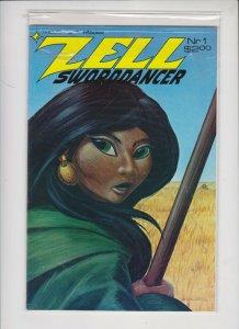 ZELL SWORDDANCER #1  1986   THOUGHTS & IMAGES NM / NEVER READ
