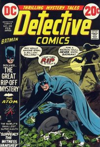 Detective Comics #432 (ungraded) stock photo / SCM