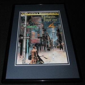 Marvel Knights #1 Framed 11x17 Cover Display Official Repro Fantastic Four