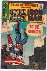Tales of Suspense #96 (Dec-67) FN/VF Mid-High-Grade Iron Man, Captain America