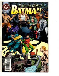 Lot Of 4 Detective Comics DC Comic Books Feat. Batman # 686 767 48 51 J301