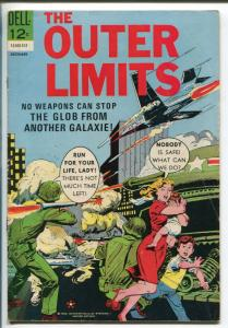 THE OUTER LIMITS #8 1963-DELL-THE BLOB-HORROR-SCI-FI-vg