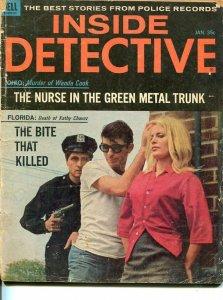 INSIDE DETECTIVE-JAN 1965-G-SPICY-MURDER-KIDNAP-RAPE G