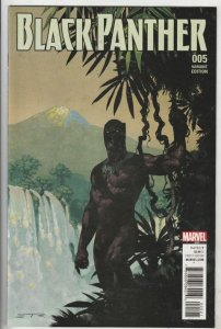 Black Panther Variant #5 (Jan-16) NM Super-High-Grade Black Panther