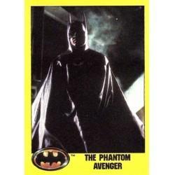 1989 Batman The Movie Series 2 Topps THE PHANTOM AVENGER #190