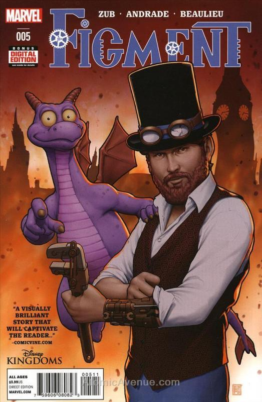 Figment #5 VF/NM; Marvel | save on shipping - details inside