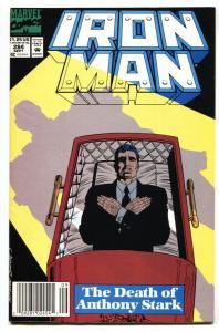 IRON MAN #284 comic book-Death of Tony Stark VF/NM